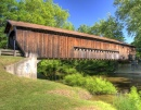 Benetka Road Covered Bridge, Ohio
