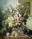 Still Life with Flowers and Friuts