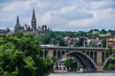 Georgetown from Theodore Roosevelt Island