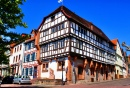 Timbered Houses in Gelnhausen, Germany