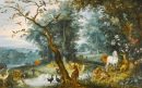 Paradise Landscape with the Fall of Man