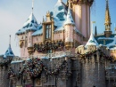 Christmas for Sleeping Beauty Castle