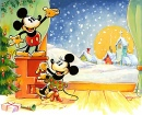 Mickey Christmas Card