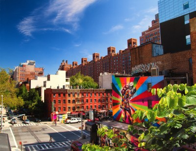 New York Color on the High Line