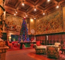 Christmas at the Hearst Castle