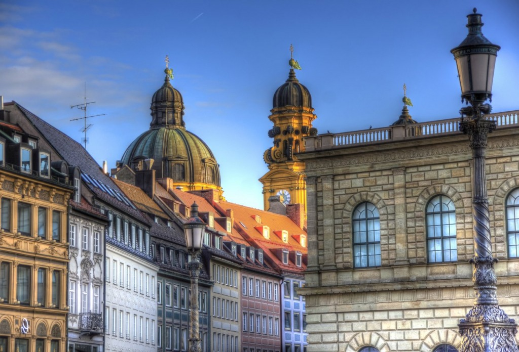 Munich Bavaria Jigsaw Puzzle In Street View Puzzles On