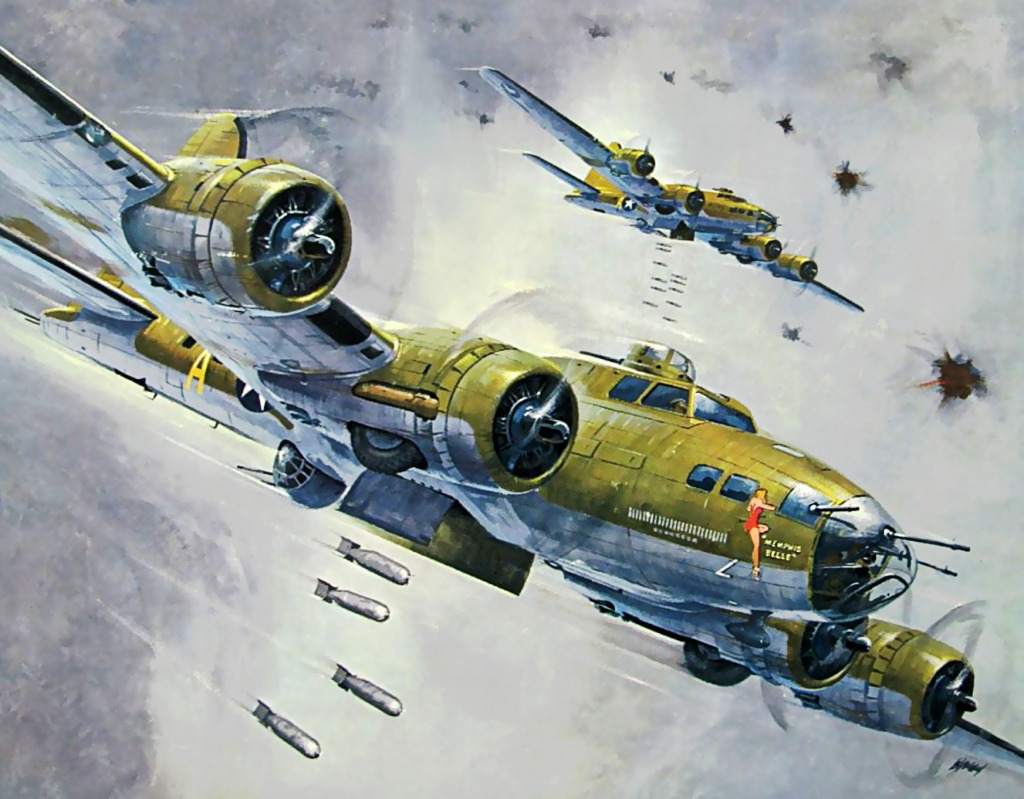 Memphis Belle Jigsaw Puzzle In Aviation Puzzles On