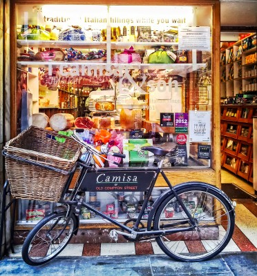 Small Italian Deli on Old Compton Street