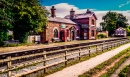 Hadlow Road Railway Station, England
