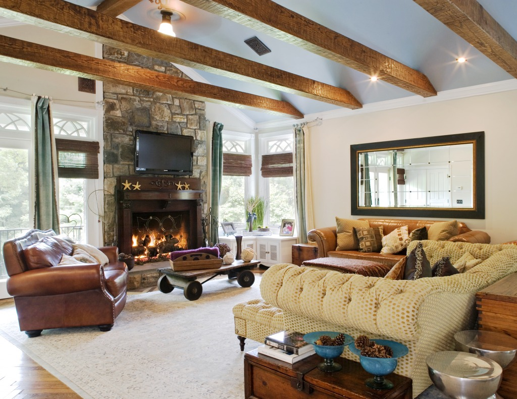 Living room jigsaw puzzle in puzzle of the day puzzles on for Decoracion salon