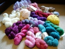 Wonderwool Wales Yarn Stash