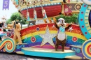 Flights of Fantasy Parade, Hong Kong Disneyland