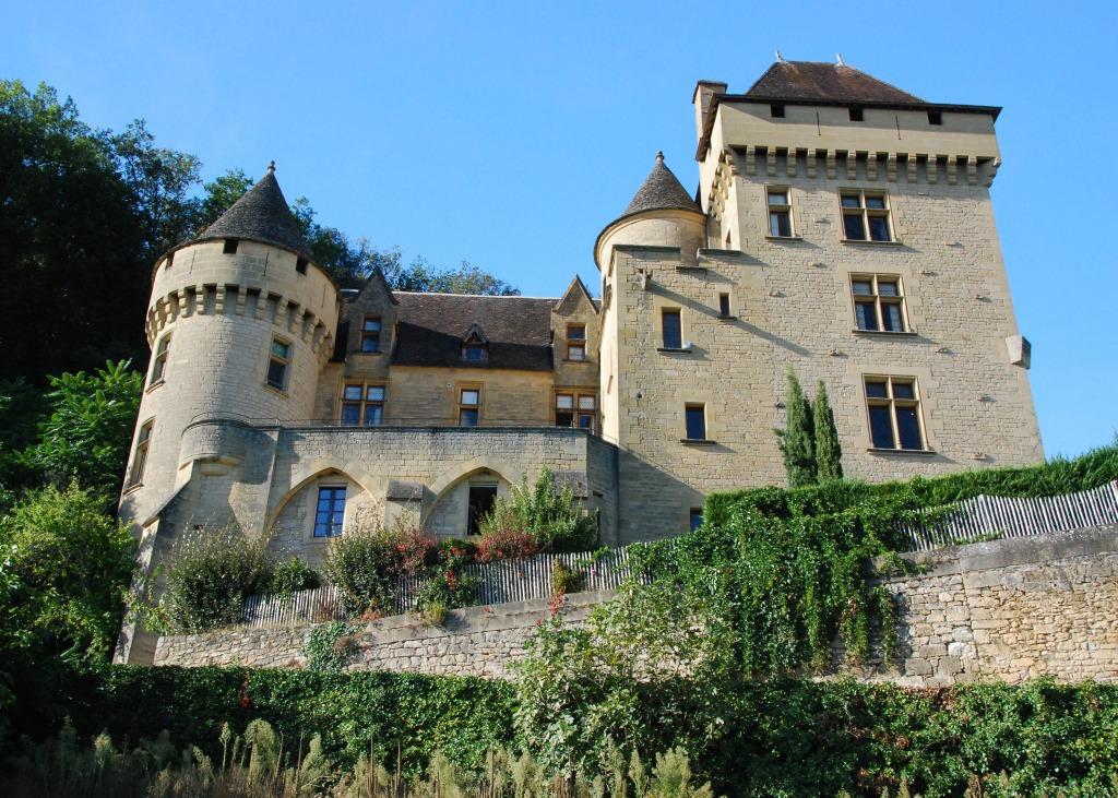 Ch teau de la roque gageac jigsaw puzzle in castles for Chateau la roque