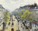 Boulevard Montmartre on a Spring Morning