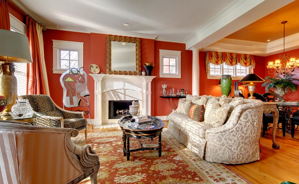 Asbury Park Terrace Living Room Jigsaw Puzzle In Puzzle Of The Day Puzzles On