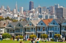 Alamo Square View of San Francisco