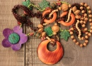 Wooden Handcraft Jewellery
