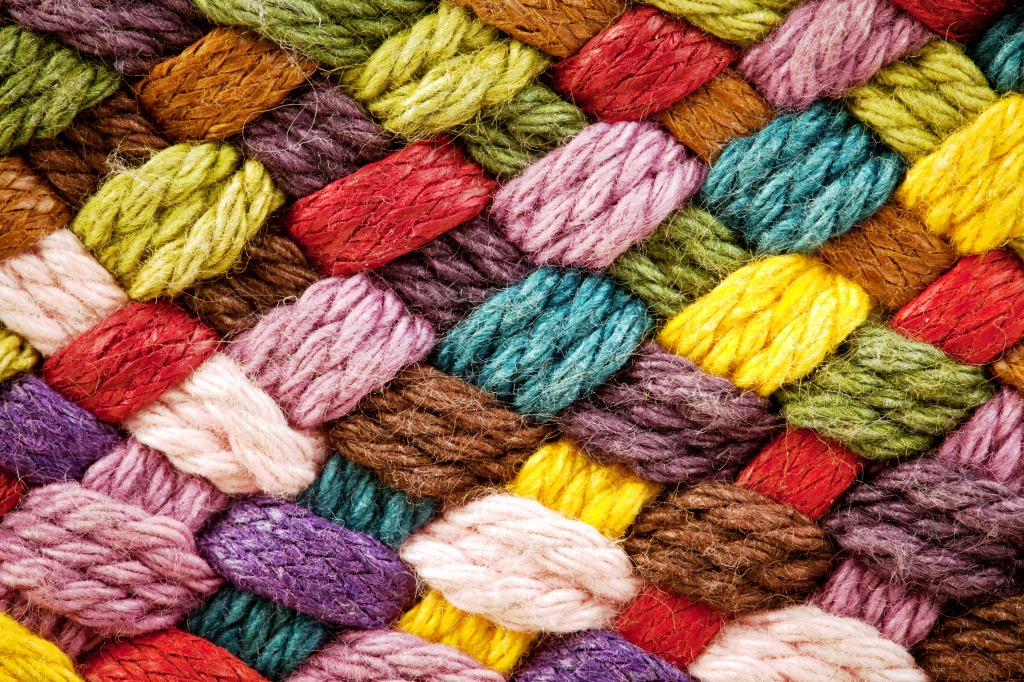 Links To More Than 10 000 Crochet Patterns And Pieces: Woolen Yarns Jigsaw Puzzle In Handmade Puzzles On