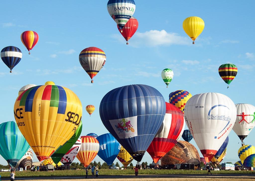 Mondial air balloon festival jigsaw puzzle in aviation for Air balloon games