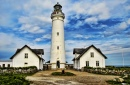 Lighthouse in Hirtshals, Denmark