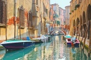 One of Many Canals of Venice