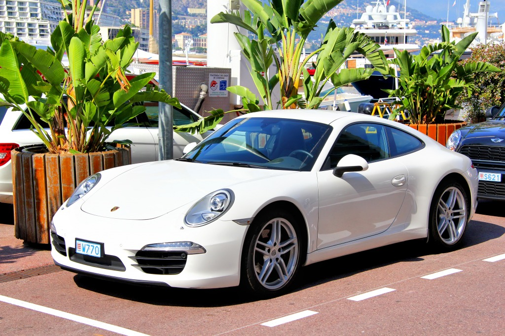 porsche 991 carrera in monte carlo jigsaw puzzle in cars bikes puzzles on. Black Bedroom Furniture Sets. Home Design Ideas