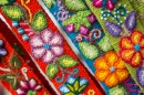 Peruvian Embroided Flowers