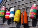 Buoys, Peggy's Cove, Nova Scotia