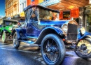 Vintage Car Display, Ballarat Town Hall