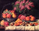 Still Life with Fruit, Nuts and Lilacs