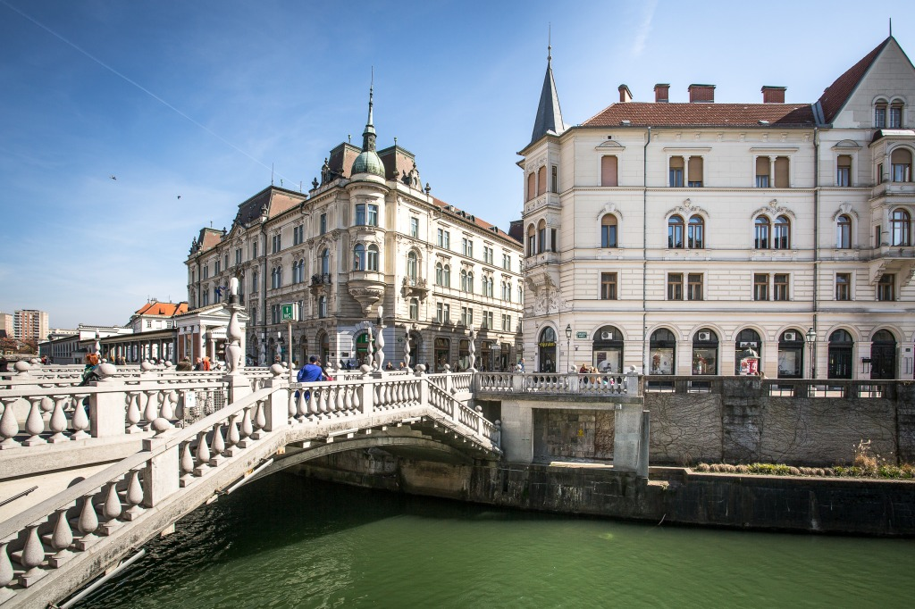 how to get from venice to ljublyana