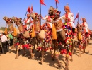 Desert Festival in Jaisalmer, India