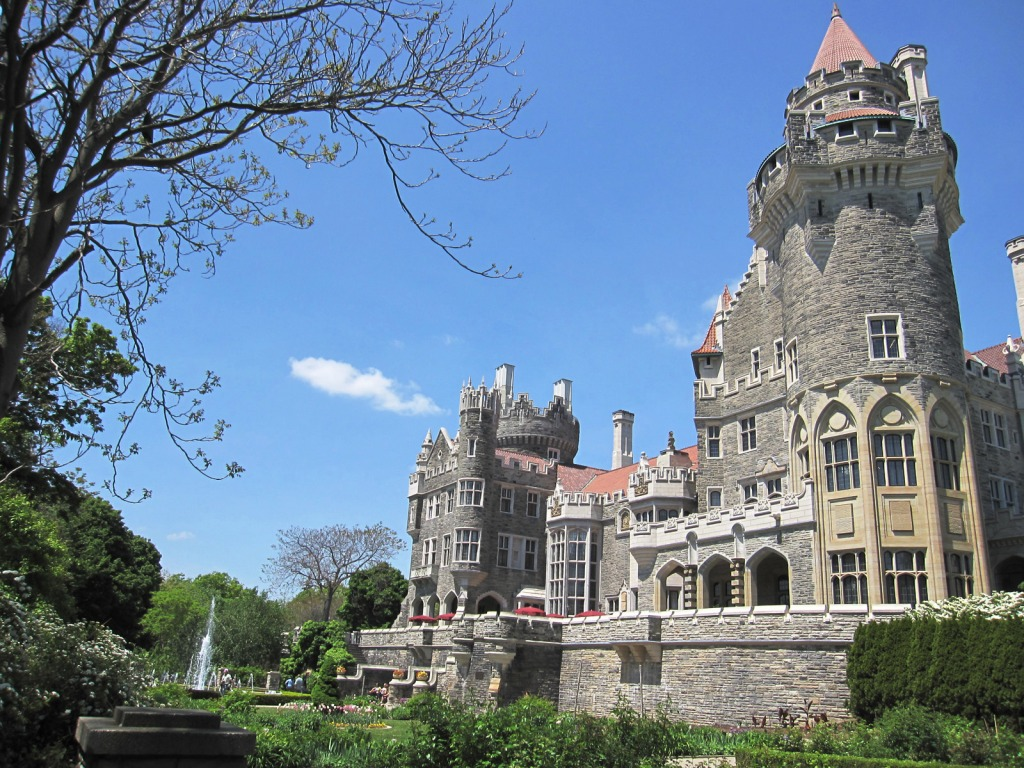 Casa loma toronto canada jigsaw puzzle in castles for Casa loma mansion toronto