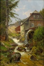 Watermill On the Mountain Stream