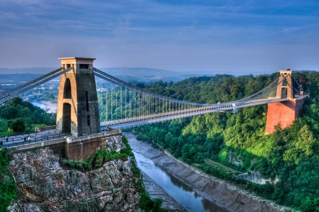 Pont Suspendu De Clifton Bristol Angleterre Puzzle En