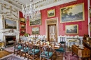 Castle Howard Crimson Dining Room