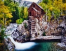 Crystal Mill at Fall