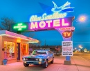 Historic Blue Swallow Motel, Route 66