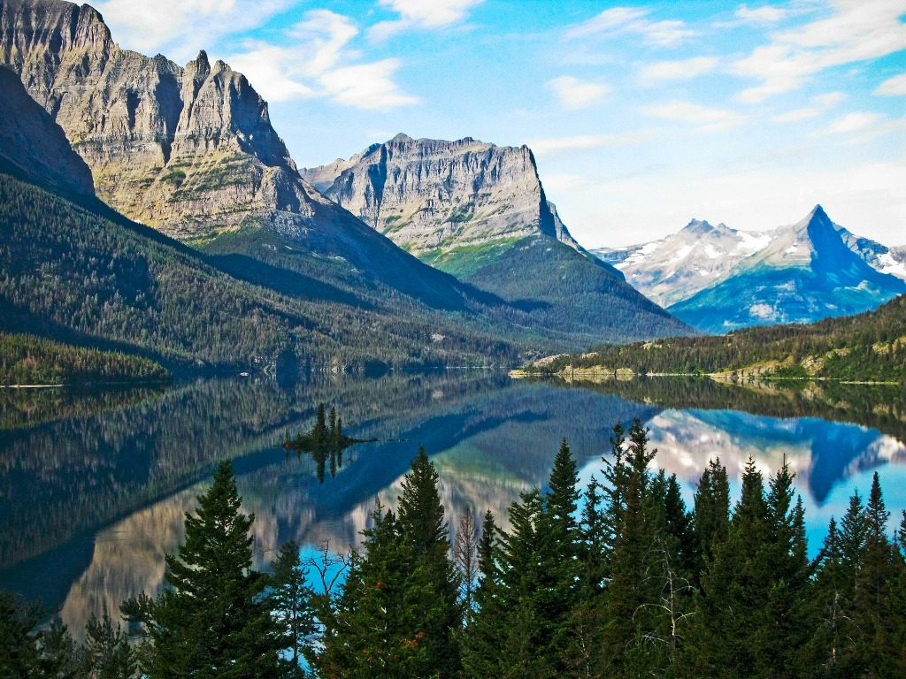 Glacier National Park Montana Jigsaw Puzzle In Great Sightings Puzzles On