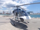Helicopter in Barcelona