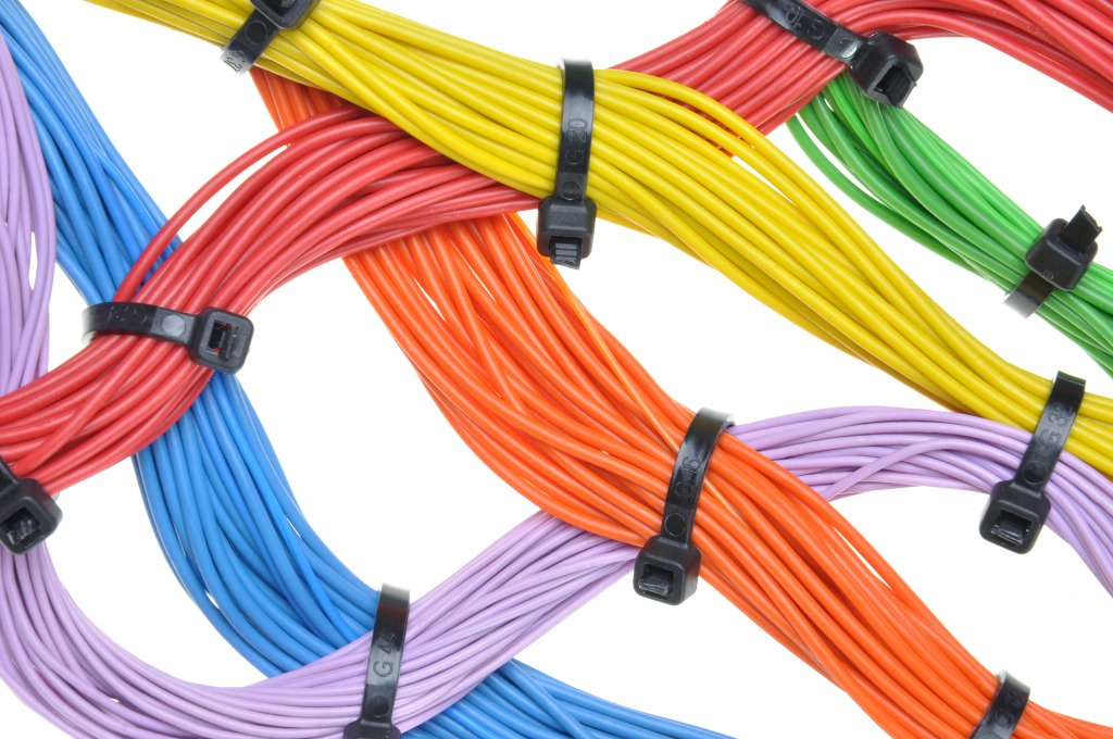 Electrical Cables and Wires jigsaw puzzle in Macro puzzles on ...