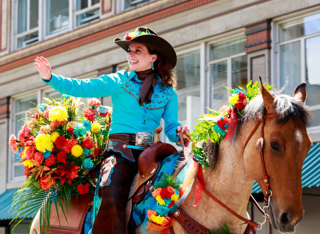 Clackamas Canby Rodeo Portland Jigsaw Puzzle In People