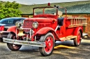 1937 Ford V8 Fire Engine