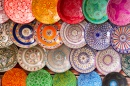 Traditional Handcrafted Plates, Morocco