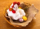 Crochet Chicken in the Nest