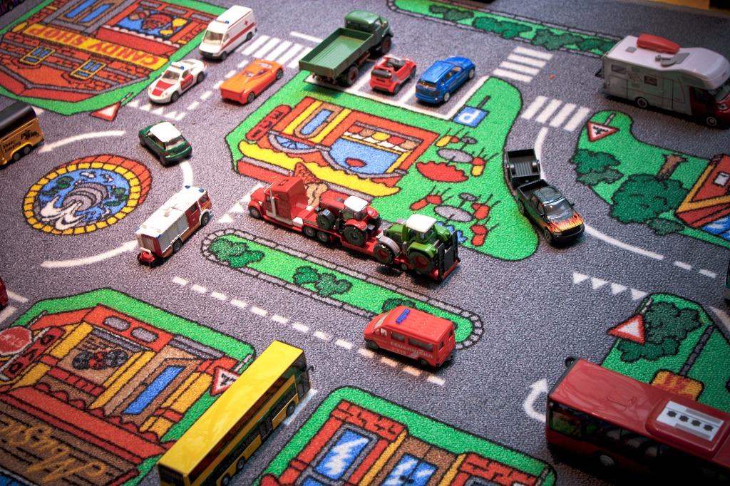 playground road for kids cars - 1024×682