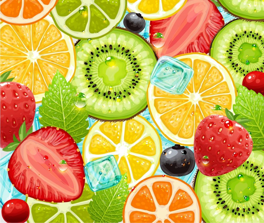 заметить, картинки фруктовый фон богатырь святогор