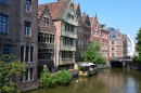 Historical Mansions in Ghent, Belguim