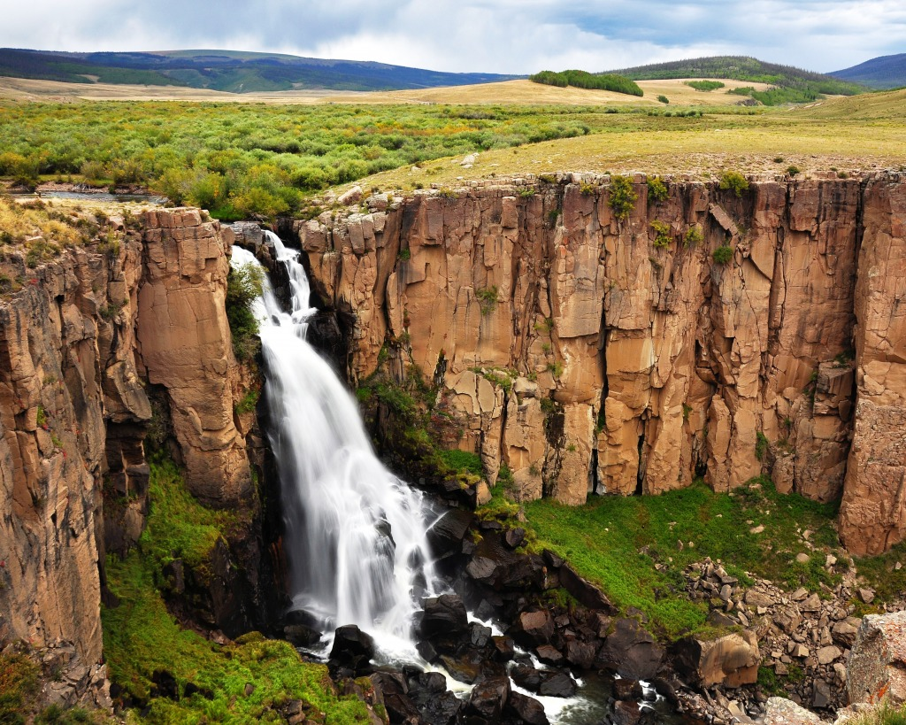 North Clear Creek Wasserfall Jigsaw Puzzle In Wasserf 228 Lle
