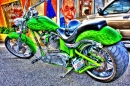 Green Custom Bike